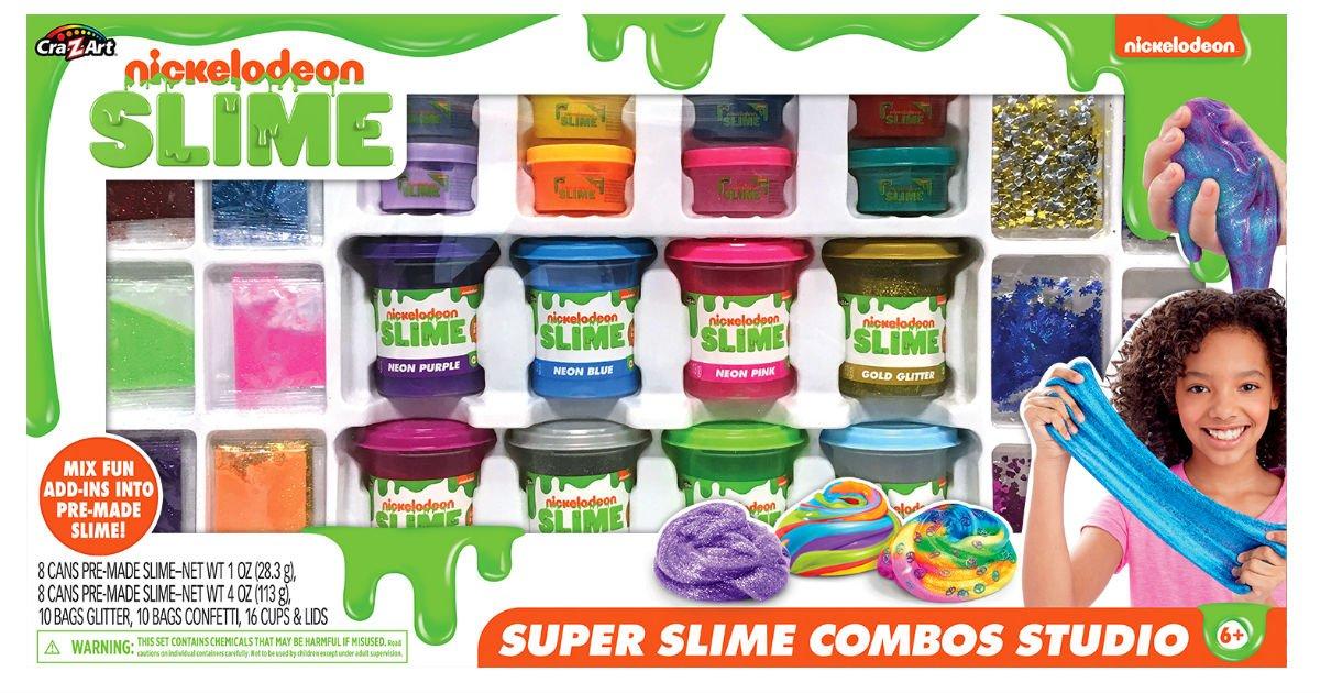 Nickelodeon Super Slime Combos Studio a solo $12.88 en Walmart (Reg. $50)
