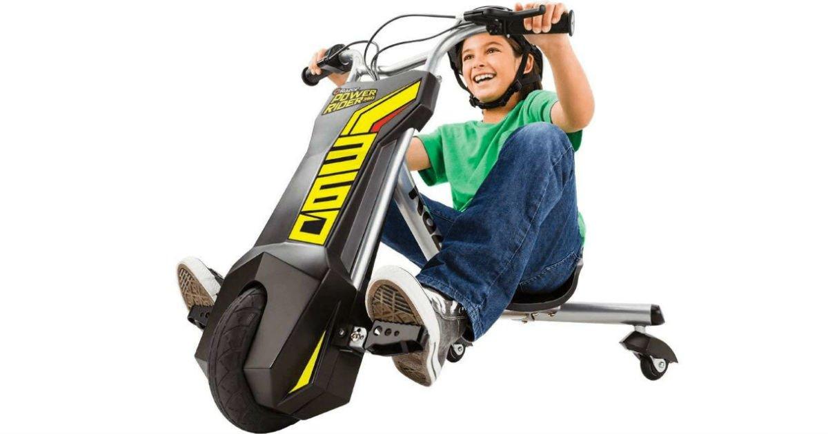 Razor PowerRider 360 Electric Tricycle a solo $99 en Walmart (Reg. $179)