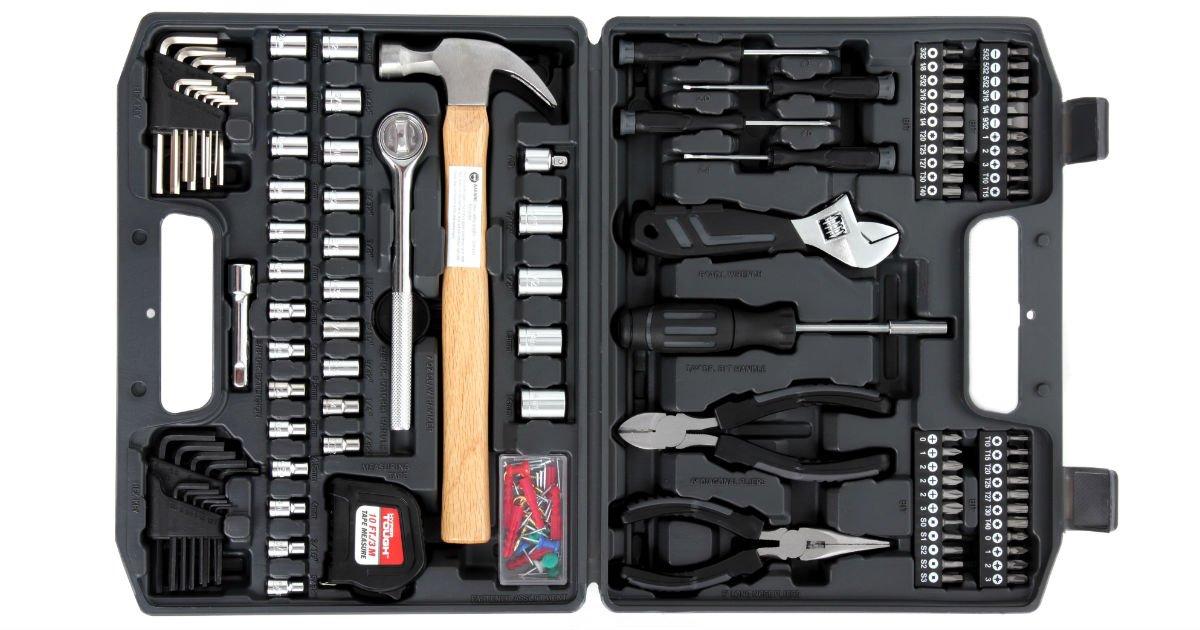 Set de herramientas Hyper Tough de 116-Piezas a solo $19.97 en Walmart (Reg. $30)