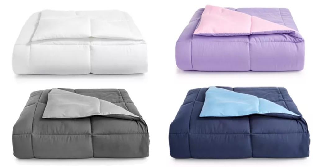Comforter Reversible Martha Stewart Down Alternative SOLO $19.99 (Reg $110)