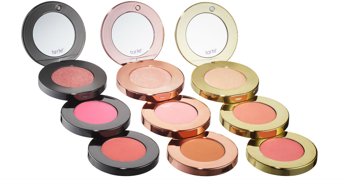 Set Tarte de Bronceador, Blush y Highlighters 9-Piezas SOLO $31.50 en Sephora