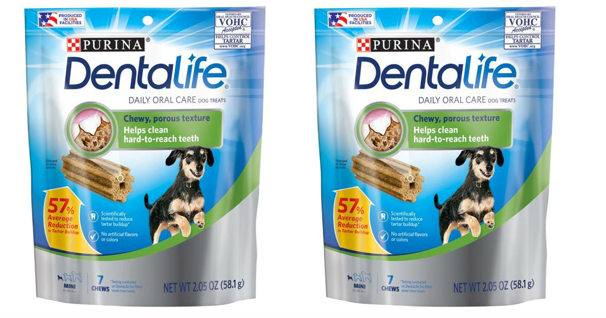 Purina DentaLife Dog Treats GRATIS en Dollar Tree