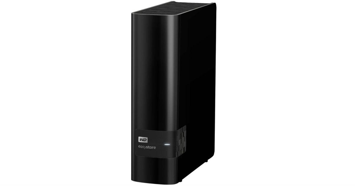 Unidad de disco duro externo USB 3.0 WD Easystore 12TB SOLO $199.99 en Best Buy