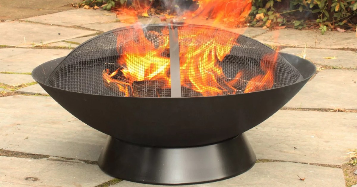 Bangor Wood Burning Fire Pit