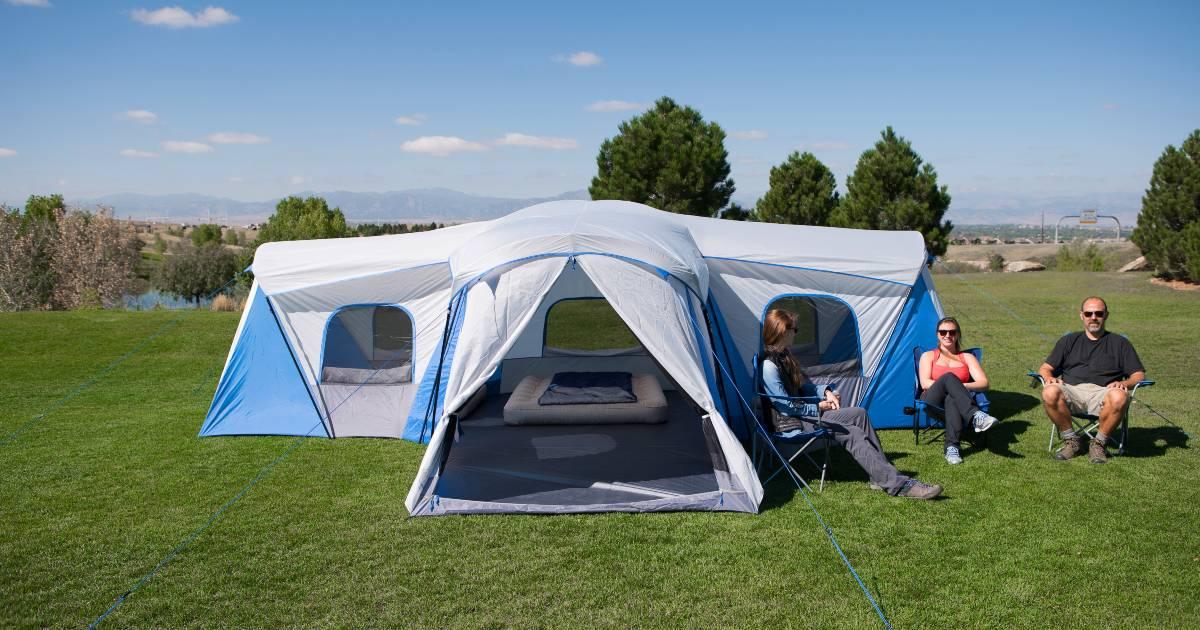 Caseta de Campaña Familiar Ozark Trail con Capacidad para 16 Personas SOLO $149 en Walmart.com