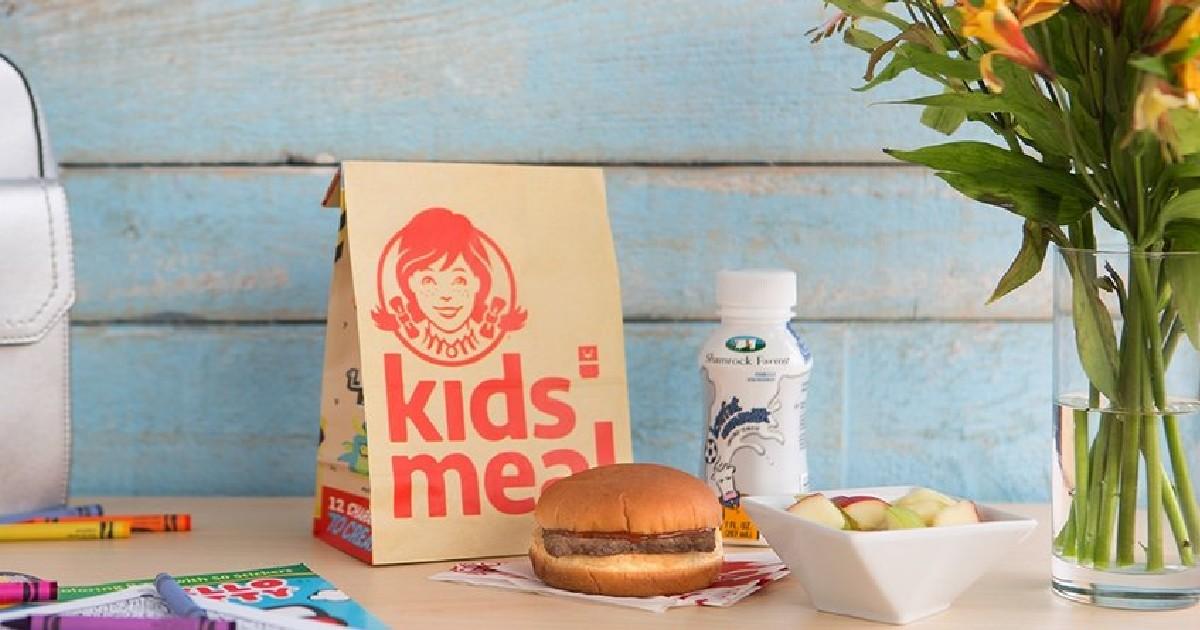 Comida para Niños GRATIS en Wendy's con CUALQUIER Orden en la App