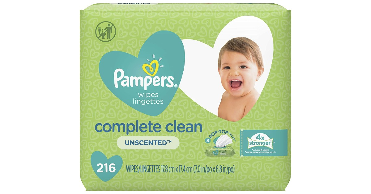 Pampers Baby Wipes 216-ct