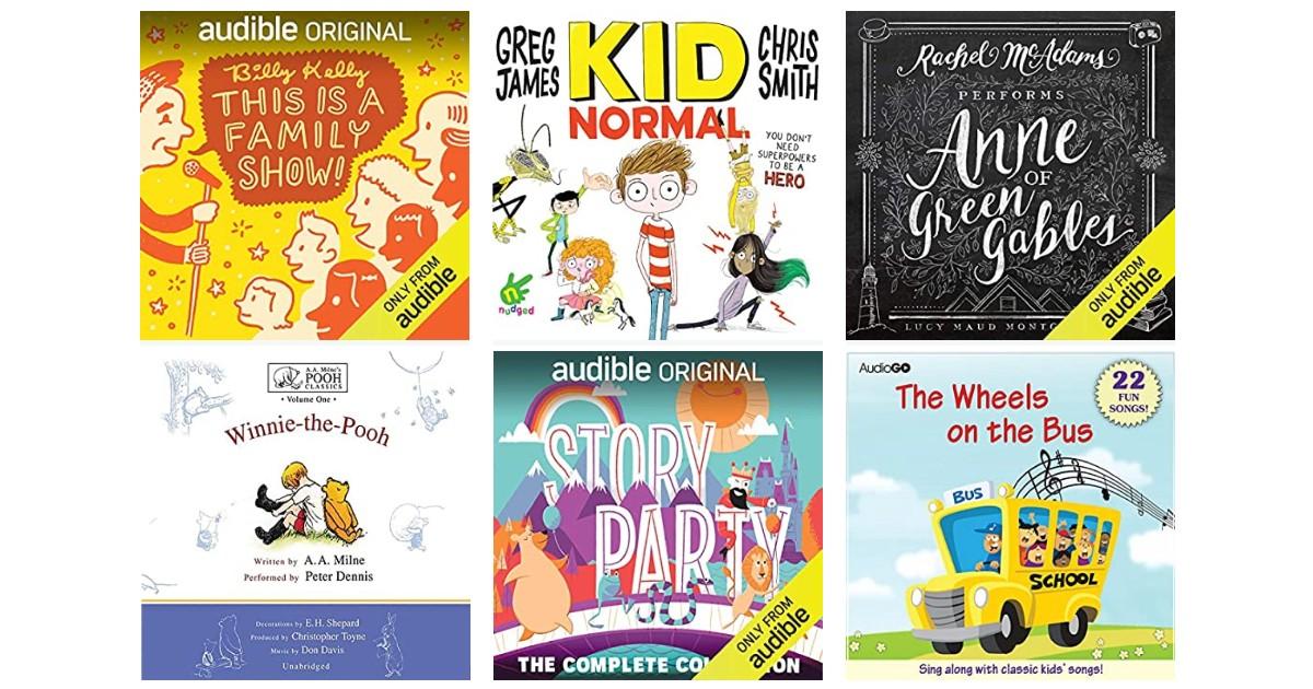 Libros audibles GRATIS para niños y adolescentes