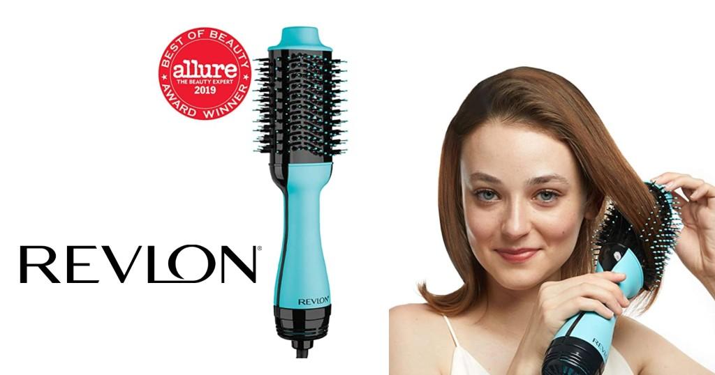 Revlon One-Step Hair Dryer And Volumizer Hot Air Brush rebajado a $56.99 (Reg.$60) y Envío Incluído