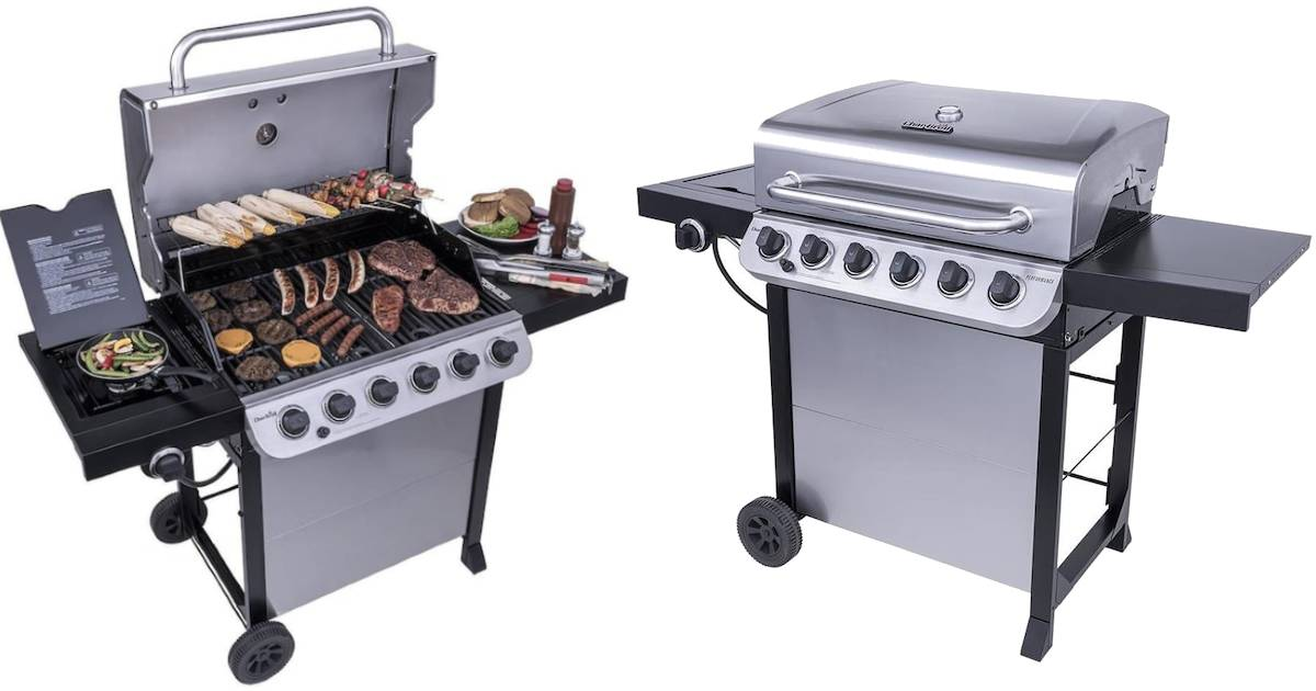 Char-Broil Grill en Stainless