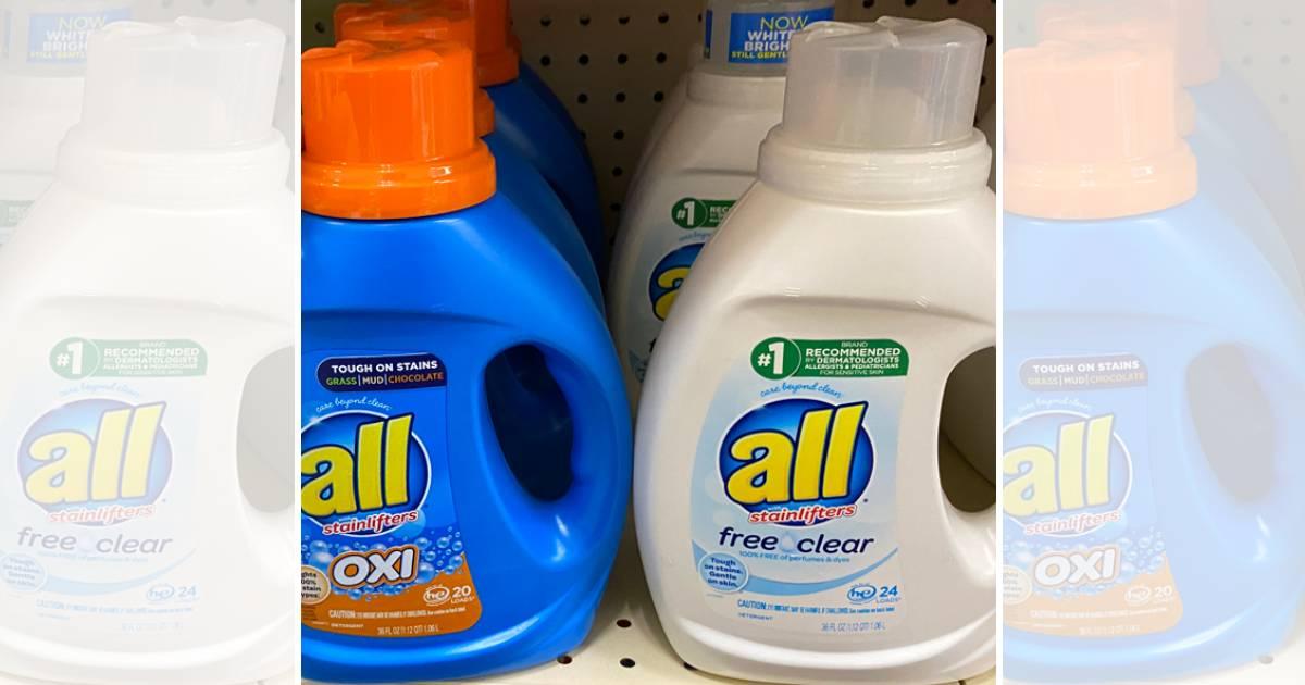 Detergente liquido All 36 oz
