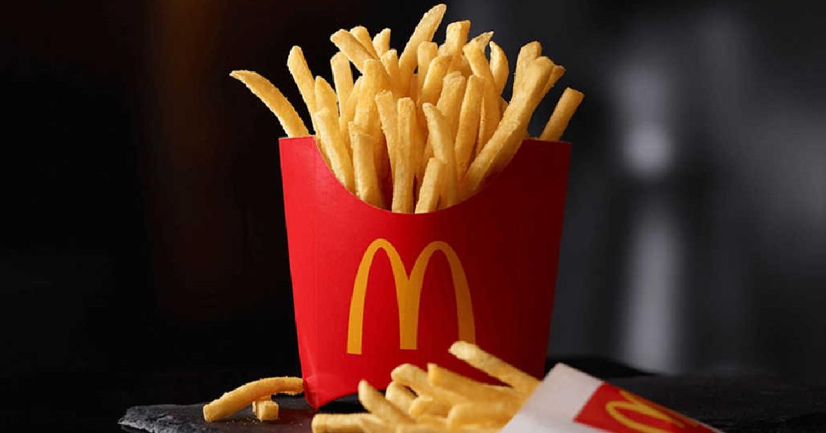 Papas Fritas Medianas GRATIS en McDonald's con la Compra de $1