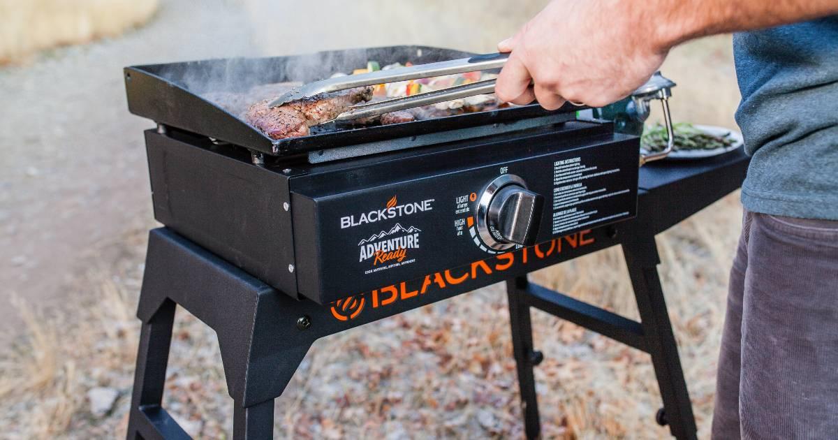 Plancha Blackstone Adventure Ready a solo $174 en Walmart (Reg. $199)
