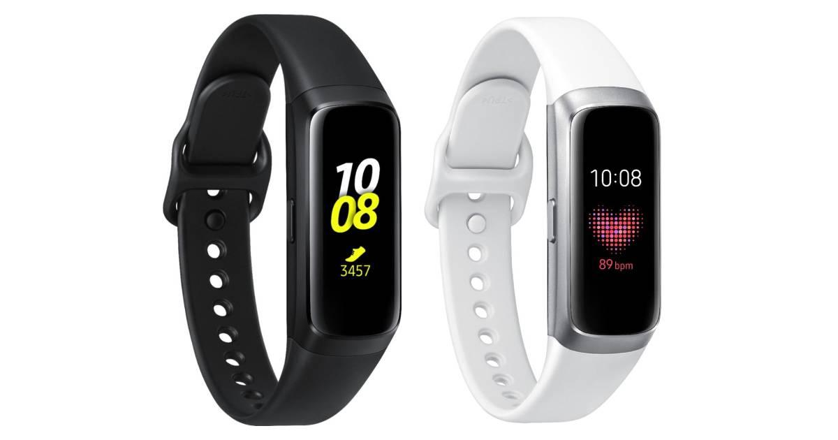Samsung Galaxy Fit Activity Tracker + Heart Rate a solo $79.99 en Best Buy (Reg. $100)