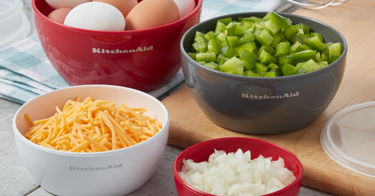 Set de Bowl 4-Piezas KitchenAid en Walmart