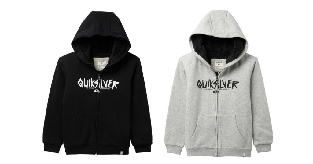 Quiksilver Fleece Lined Hoodie
