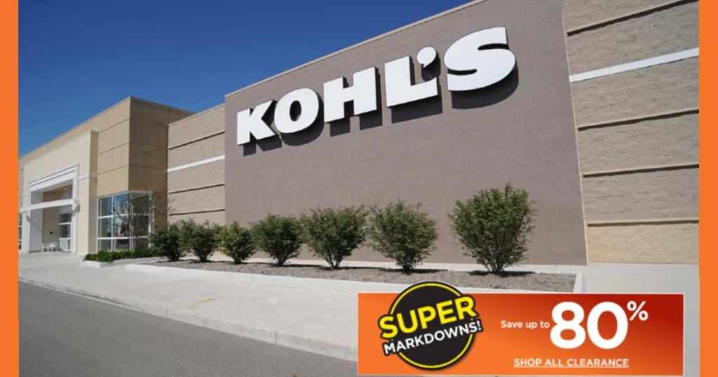 80% de DESCUENTO en Kohls
