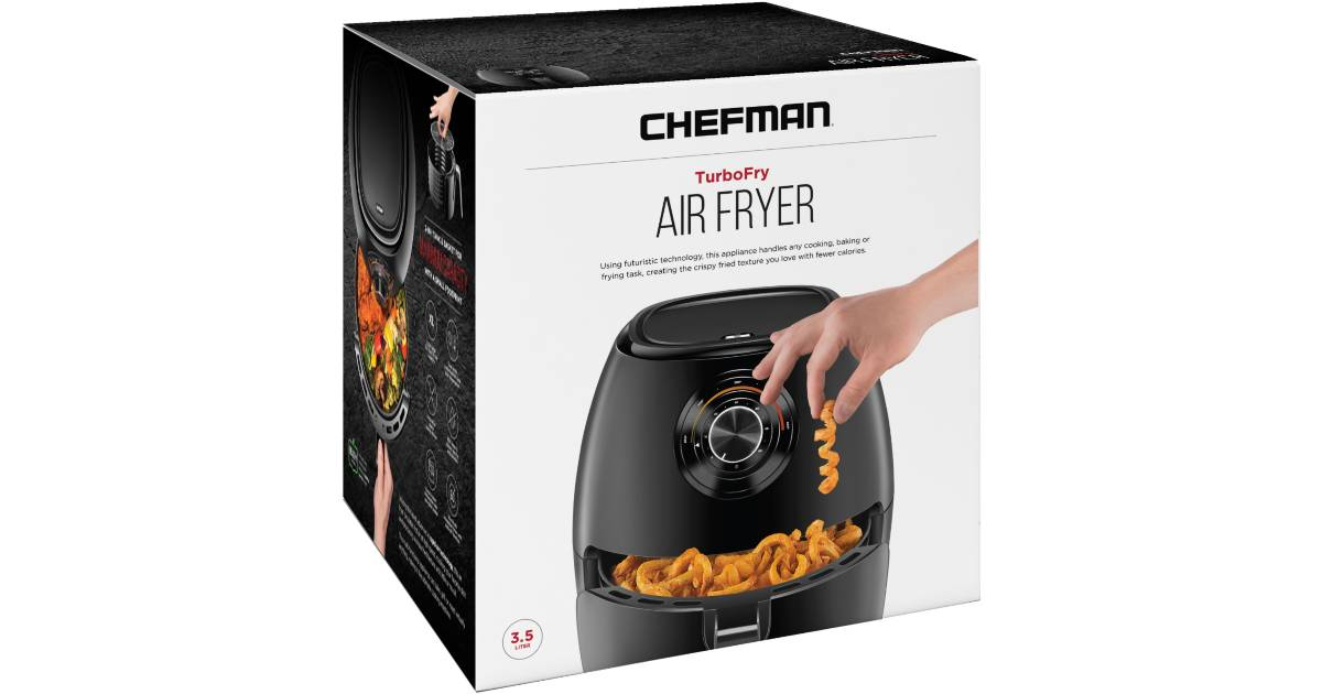 Freidora de Aire Chefman TurboFry 3.5L
