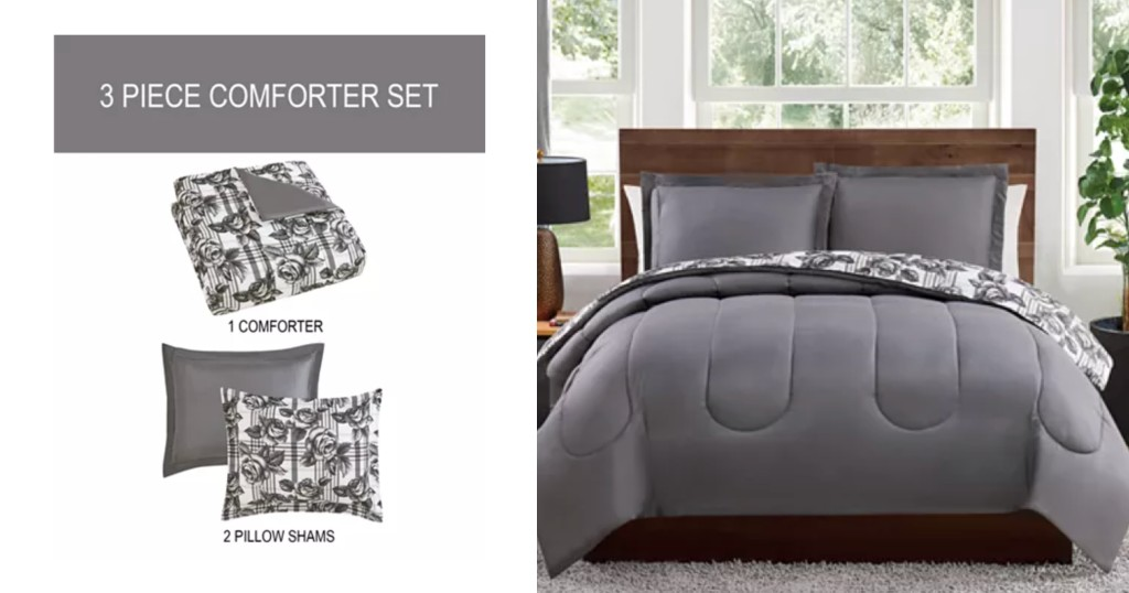 Set de Comforter de 3 Piezas Pem Americaa solo $29.99 (Reg. $80) en Macy's