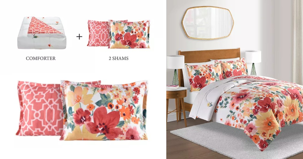 Set de Comforter Sunham Luna