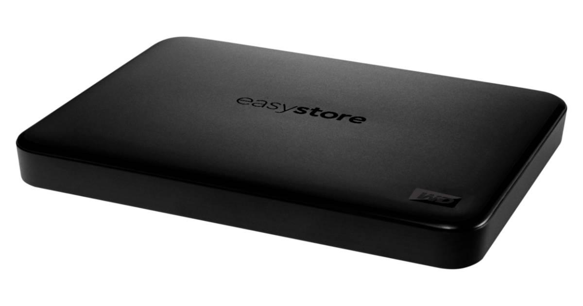 Unidad de Disco Duro Externo USB 3.0 WD Easystore 2TB
