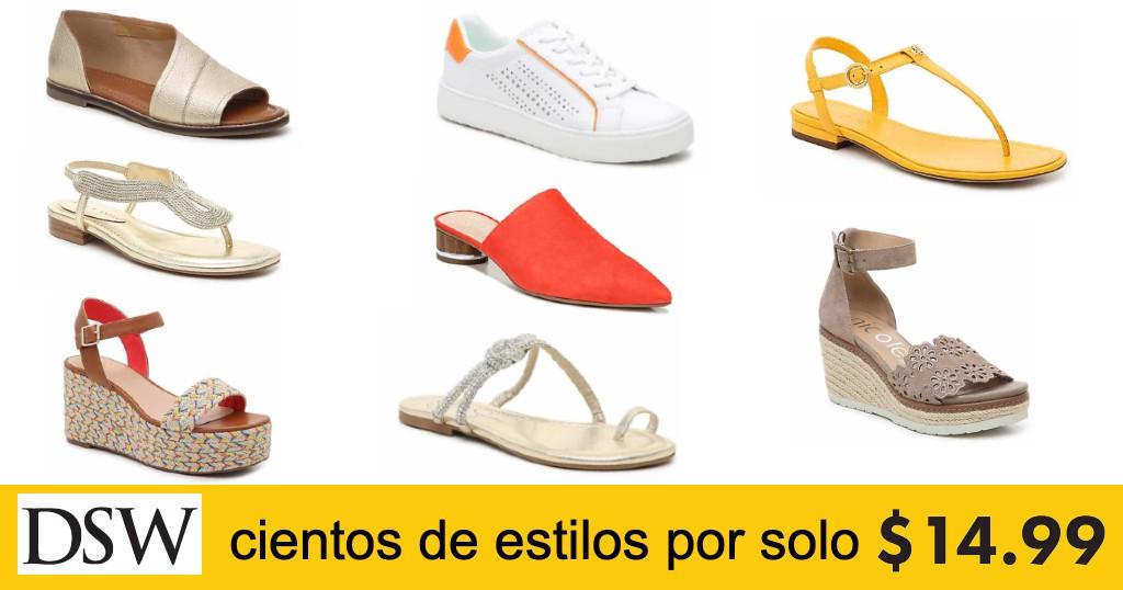 Variedad de Estilos en Zapatos