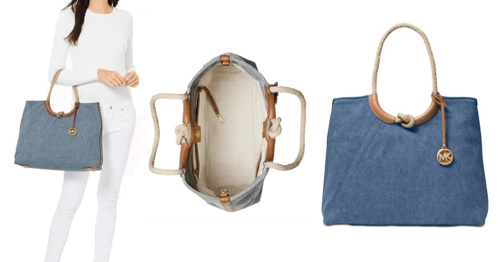 Cartera Michael Kors Isla Ring Shoulder Tote a solo $97.13 (Reg. $248) en Macy's