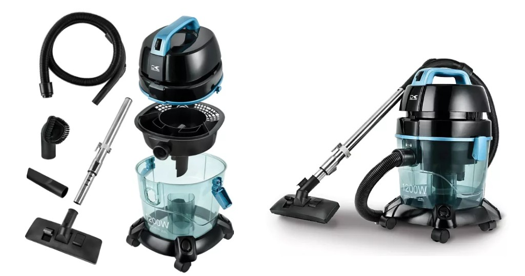 Kalorik Blue Pure Air Water Filtration Vacuum Cleaner a solo $124.99 (Reg. $250)