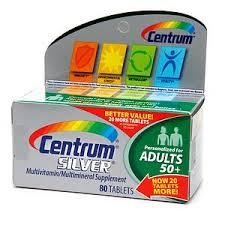 Centrum Silver Multivitamin, 80 ct