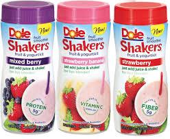 Dole Fruit Smoothie Shakers