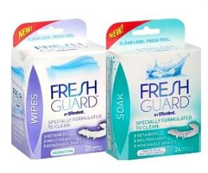 Efferdent Fresh Guard Soak or Wipes