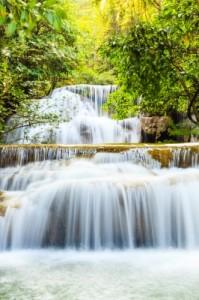 río que fluye