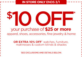 JCPenney Coupon