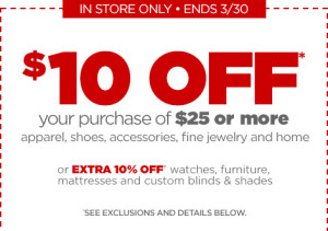 JCPenney offer