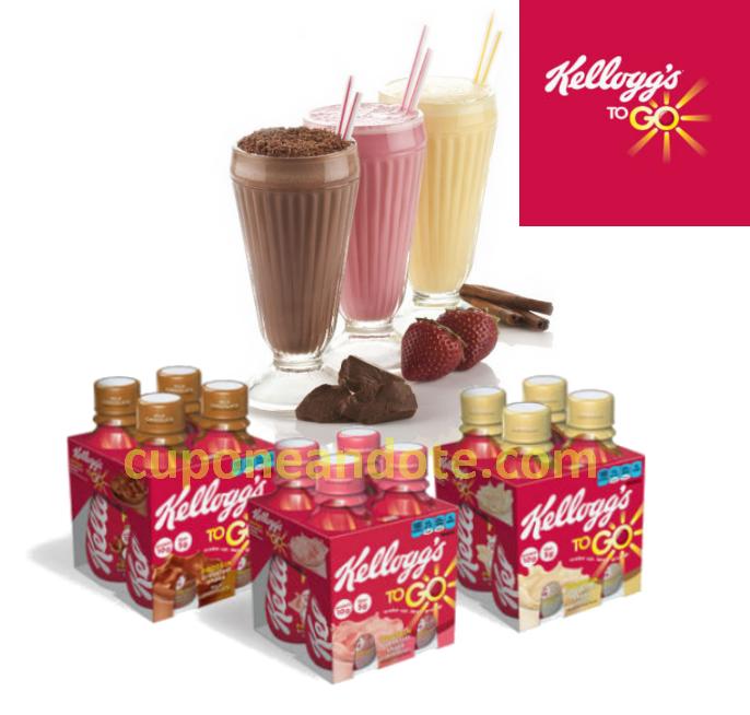 Target: Kelloggs To Go Mix de 6 a tan solo .40¢