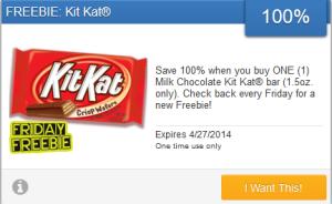 KitKat freebie