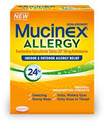 Mucinex Allergy Product