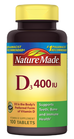Nature Made Vitamin D3 400 IU